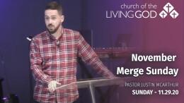 November Merge Sunday
