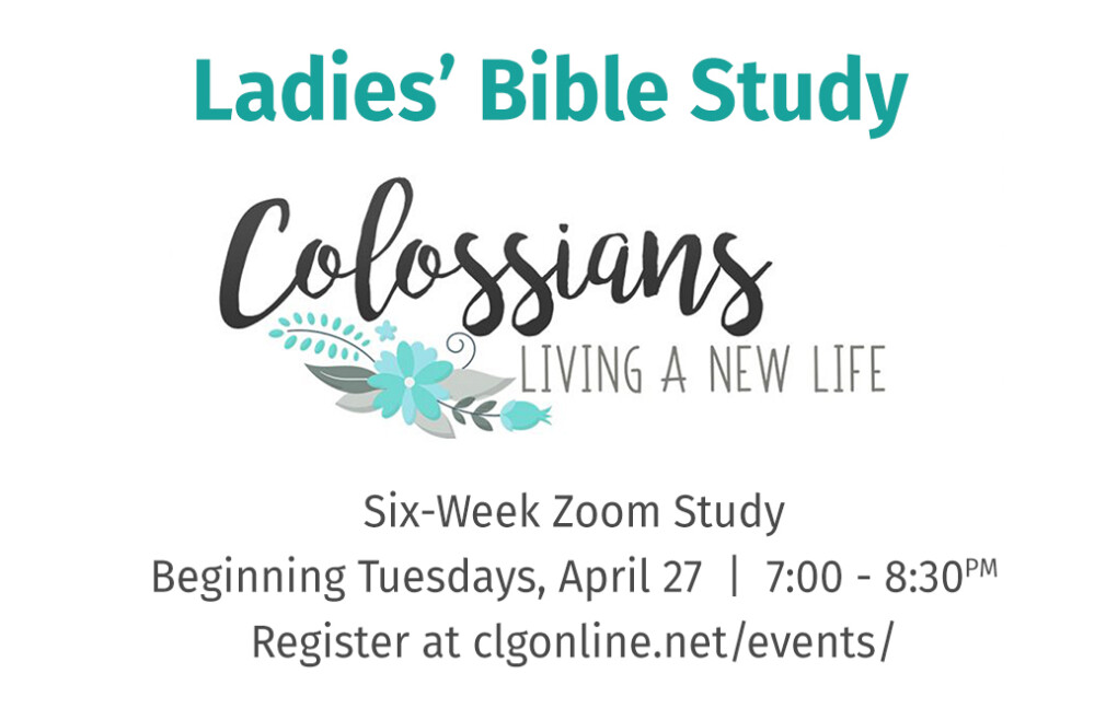 Colossians Ladies' Bible Study