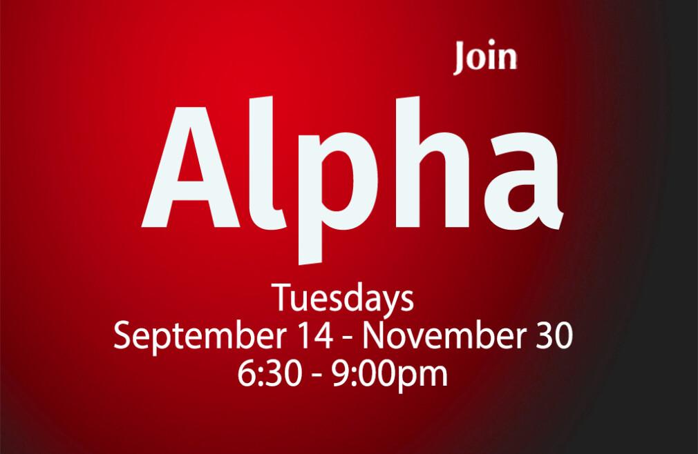 Fall Alpha Course